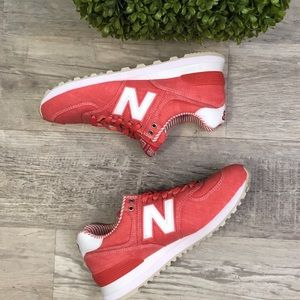 New Balance 574 Chambray Beach Coral NEW Sneakers